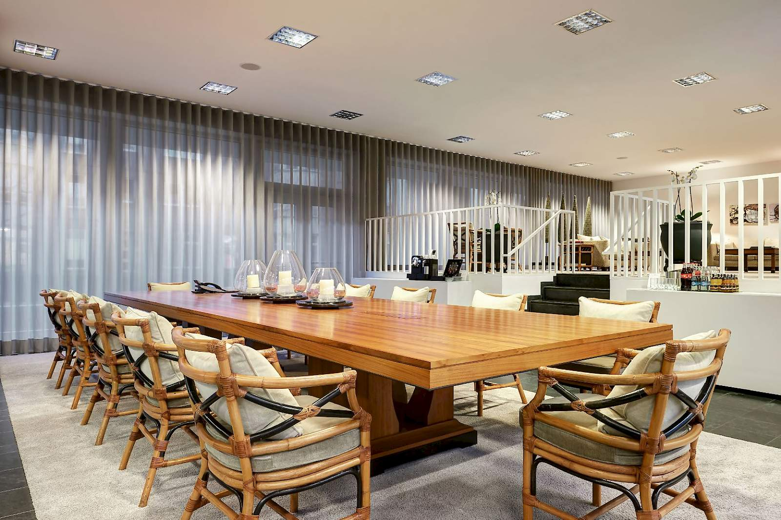 Plenty of room for inspiration is provided by our spacious meeting room at The Mandala Suites