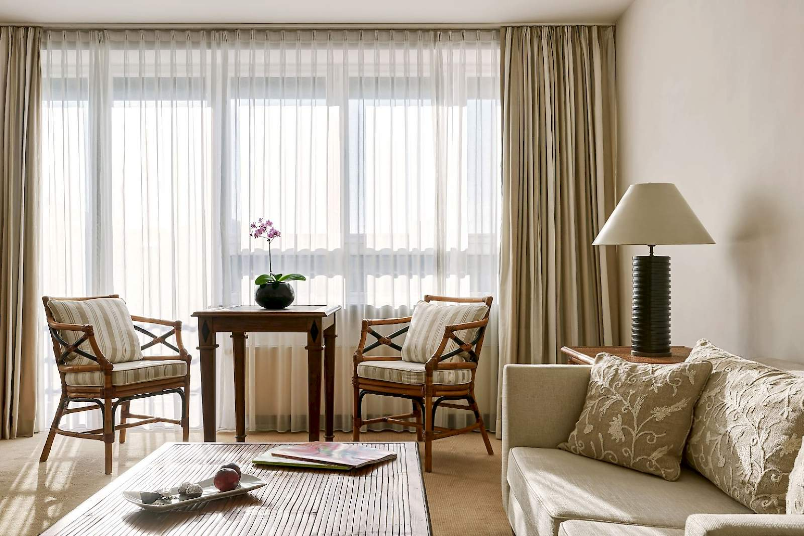 Our Mandala Suites are elegant and restrained at The Mandala Suites
